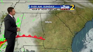 Increasing clouds, temps in 30s to start your Sunday