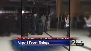 Thousands of travelers stranded at Atlanta airport due to power outage