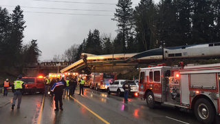 At least 6 dead, 70 injured after Washington Amtrak train derailment