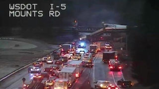 Injuries, casualties in Washington Amtrak train derailment