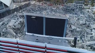 Second Georgia Dome demolition set for Wednesday morning