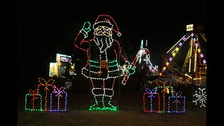 here are some more photos from the magical nights of lights at lake lanier islands