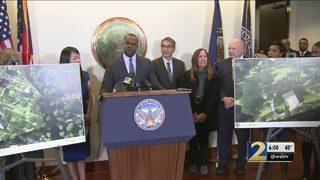 Mayor Reed announces Piedmont Park expansion
