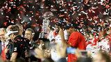 UGA celebrates its Rose Bowl win