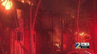 Chief says firefighters faced many challenges battling apartment fire