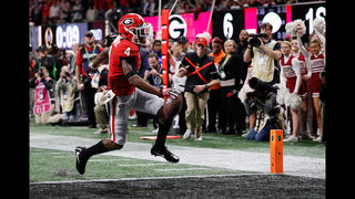 Several offensive stars leaving Georgia early for NFL Draft