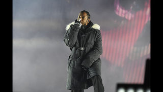 PHOTOS: Kendrick Lamar performs at halftime of the CFP National Championship