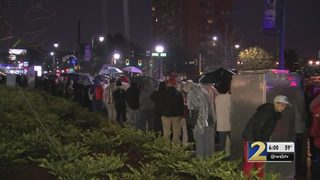 Fans complain of long wait time to get into National Championship game