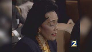 Coretta Scott King urges holiday of service