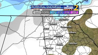 Snow showers expected tomorrow, Winter Weather advisory to go into effect