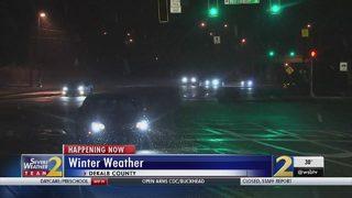 Crews working to keep roads safe as temperatures plummet