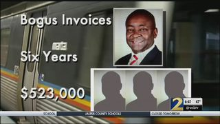 Former MARTA executive sentenced in scheme that stole more than $500,000