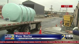 GDOT treats roads ahead of winter weather