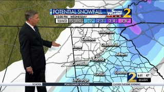 Winter Weather Advisory expanded, extended as storm moves through N. Georgia