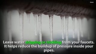 How - and when - to prevent your pipes from freezing