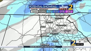 WINTER WEATHER: Governor declares state of emergency for 83 Georgia counties