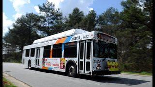 MARTA report delays for buses across Atlanta due to snow