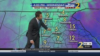 Cold continues Wednesday afternoon