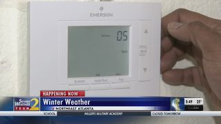 Cold weather exposes heating systems for some metro Atlanta residents