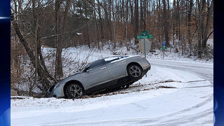 Icy roads lead to hundreds of crashes across Georgia