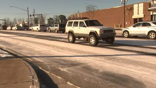 ROAD CONDITIONS: Temperatures rising, but major trouble spots persist