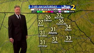 Cold start to your Saturday morning