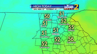 Temps above freezing now, but refreeze possible again tonight