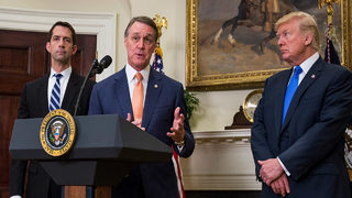 Senator David Perdue comments on US government shutdown