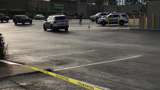 Robbery suspect dies after being shot by officer, police say
