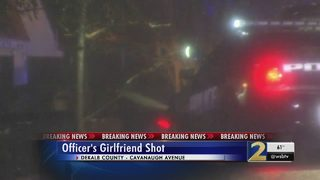 Atlanta officer being questioned in girlfriend