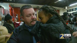 DeKalb firefighter says rescuing girl from burning apartment fire was very emotional