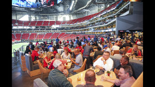 PHOTOS: Behind-the-scenes look at food experience inside Mercedes-Benz Stadium