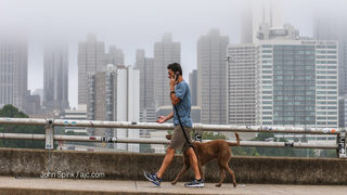 Mist, drizzle and light rain expected this weekend