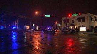 Woman found dead on busy metro Atlanta road