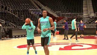 HOMECOMING: Dwight Howard returns to Atlanta with Charlotte