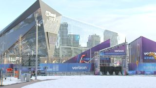 Security crews out in force in the air and on the ground for Super Bowl 52
