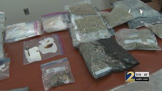 $350K worth of exotic drugs seized in