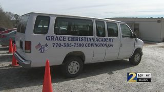 Van, more than $1,000 stolen from Christian academy