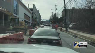 Drivers in midtown frustrated with construction projects, lane closures