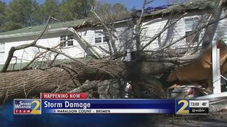 NWS says storm damage caused by weak tornado