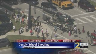 5 killed,14 taken to hospital in shooting at south Florida high school