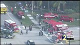 RAW VIDEO: Large police presence surrounds Florida high school following shooting