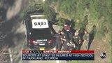 RAW VIDEO: Police take person into custody following Florida high school shooting