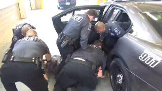 Dramatic bodycam video shows deputies using stun gun on suspect before he dies