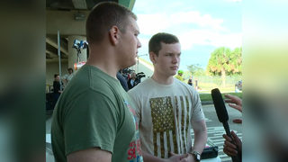 JROTC students use Kevlar pads to shield classmates from Florida shooter