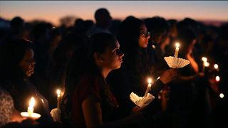 Thousands gather for Florida school shooting vigil