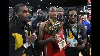 Atlanta rapper Quavo, of Migos, wins MVP of NBA All-Star Celebrity Game