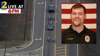 Hundreds gather to remember Officer Chase Maddox (VIDEO)