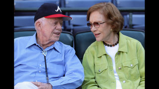 Jimmy Carter on wife Rosalynn
