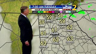 Warmer than average highs expected Tuesday